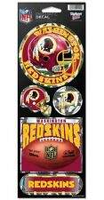WASHINGTON REDSKINS PRISMATIC HOLOGRAPH STICKER DECAL SHEET OF 5 NFL FOOTBALL