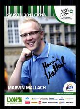 Marvin Mallach AUTOGRAPH USC Münster 2013-14 Original Signed + A 169760