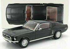 NOREV Ford Mustang Fastback 1968 Échelle 1:12 Voiture Miniature - Noire (122700)