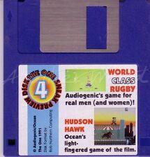 The One Amiga - Magazine Coverdisk 4 - Hudson Hawk