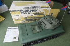 Vintage Action Man Scorpion Tank with original box & leaflet Palitoy GI Joe