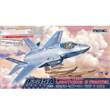 Meng Model 1/48 LS-007 F-35A Lightning II Fighter Plastic Model Kit