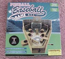 Wooden Pinball Baseball Game