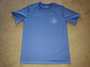 Body Glove Shirt T-shirt 50+ UPF Mens Medium M Blue Rash Guard