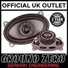 "Ground Zero Titanium GZCS 46CX 4""x6"" 220 Watts 2 Way Coaxial Car Dash Speakers"