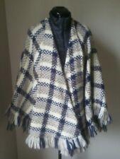 Vintage Branigan Weavers Irish Wool Cape Poncho 90% Wool Tweed Ireland excellent