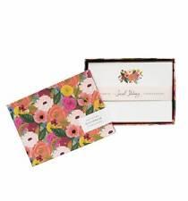 Rifle Paper Company - Mint Birch Monarch Envelopes - Set of 25