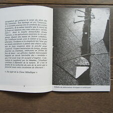 CATALOGUE EXPO FRANCOIS RIGHI SUR LE RHOMBE METAL 1979 GALERIE CHARLEY CHEVALIER