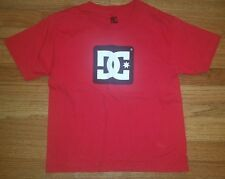 DC SKATE RED SHIRT T-SHIRT  BOY'S SIZE S  6/7