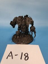 Warhammer 40k Nurgle Death Guard OOP Forge World Dreadnought Helbrute