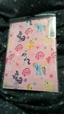 My little pony 2 sheets of wrapping paper & 2 tags