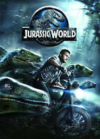 Jurassic World (DVD, 2015) like new dinosaur DVD movie