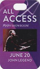 John Legend Concert Backstage Pass All Access Laminate or Felt Meet & Greet