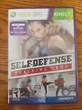 Self- Defense Training Camp Micorosoft Xbox 360 Kinect