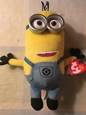 """Ty Beanie Babies 8"""" Minion TIM from Despicable Me 3 Beanbag Plush with Tag"""