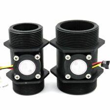 DN40 DN50 Water Flow Sensor Hall Flowmeter Meter Counter Instrument Measurement