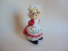 Collectible Mrs. Santa Shaker Made In Japan
