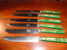 Vintage Stainless Steel Table Knives from Monroe Silver Co, 1930s