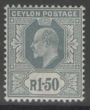 Edward VII (1902-1910) Mint Hinged Ceylon Stamps