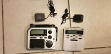 Midland NOAA ER102 Emergency Survival Radio Crank Power Weather WR-100 Set of 2