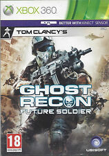 GHOST RECON FUTURE SOLDIER for Xbox 360 - with box & manual - PAL