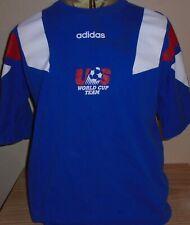vintage 1990s US Soccer adidas jersey t shirt Large