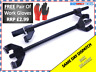 Pair of Coil Spring Compressor Heavy Duty Suspension Clamps 380mm Tool #39