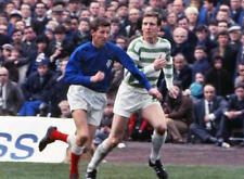 Alex Ferguson and Billy McNeill Celtic Rangers Action 10x8 Photo