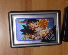 DRAGON BALL Z GT DBZ RARE CARD BAG SEAL PRISM BOITE/BOX POCKET CASE CARTE #023
