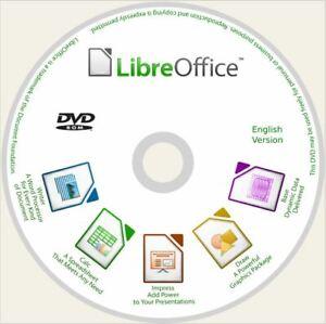 Libre Office For Windows 32bit & 64bit Office Suite Word Excel DVD