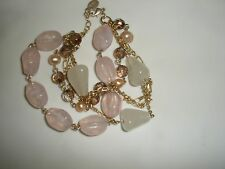 Wear Gold Finish Avon Mark Bracelet Stone