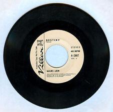 Philippines MARI-LEN Destiny OPM 45 rpm PROMO Record