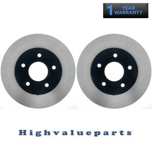 Rear Left and Right Disc Brake Rotors BR31134 for Nissan Maxima 1994 95 96-2003