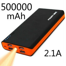 High Capacity 500000mAh Portable 4USB Power Bank LED External Battery Charger