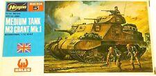 Hasegawa MB-005 mini box Medium Tank M3 Grant Mk.1 British Army 1:76 OVP HH2 å *