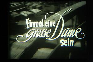 Einmal eine große Dame sein (1957) Dietmar Schönherr Gudula Blau Grethe Weiser
