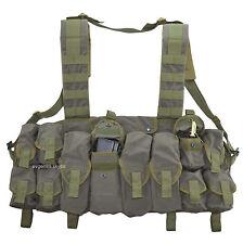 SSO / SPOSN Tactical Vest Lazutchik M Olive Russian Scout Chest Rig