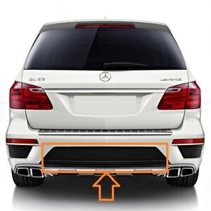 New Genuine Mercedes Benz GL X166 Rear AMG Bumper Cover Grill Center A1668850753