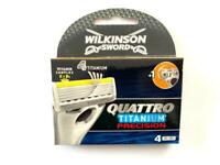 Wilkinson Sword Quattro Titanium Precision - 4 Replacement Razor Blades