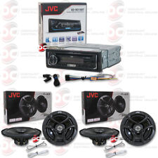 "JVC KD-RD79BT CAR CD MP3 STEREO WITH PANDORA CONTROL PLUS 4 x 6.5"" COAX SPEAKERS"