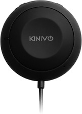 Kinivo BTC450 Bluetooth Hands Free Car Receiver for cars with Aux input jack 3.5