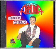 GRUPO ARMONIA de Jorge Molano ´´15 gGRANDES CON MOLANO´´ CD NEW