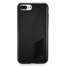 """For Apple Iphone 7&8 4.7"""" SZ2 Carbon Pattern Hybrid Hard Cover Soft Rubber Case"""