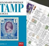 Bulgaria 2021 Scott Catalogue Pages 719-830