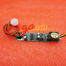 Useful IR Pyroelectric Infrared PIR Motion Sensor Detector Module 5A DC 12V