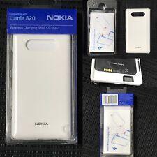 Nokia Lumia 820 case Wireless Charging Shell CC-3041 lumia WHITE case 02734H4