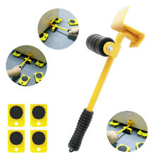 1 Set Universal Heavy Furniture Mover Tool Lifter Wheels Moving Kit Convenient