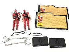 Gi Joe 25th Red Ninja Storm Shadow  Ninja Clan Cobra Army Builder