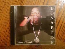 BONAFIDE - STREET SCHOLAR / MID WEST G-FUNK TRUNK TAPE DEMO CD!!!!! OOP RARE!!!!