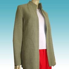 New $325 KASADA Blazer Jacket 10 USA QUALITY beyond Compare - Hook Closure Tan
